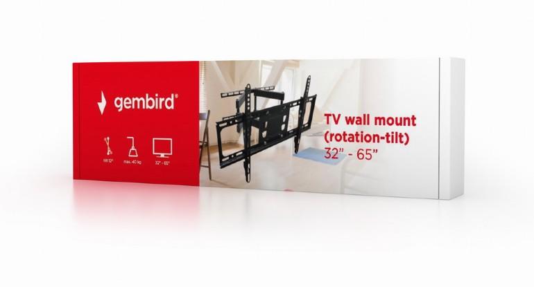 """TV стойка Gembird WM-65RT-03 32""""65""""rotation-tilt"""