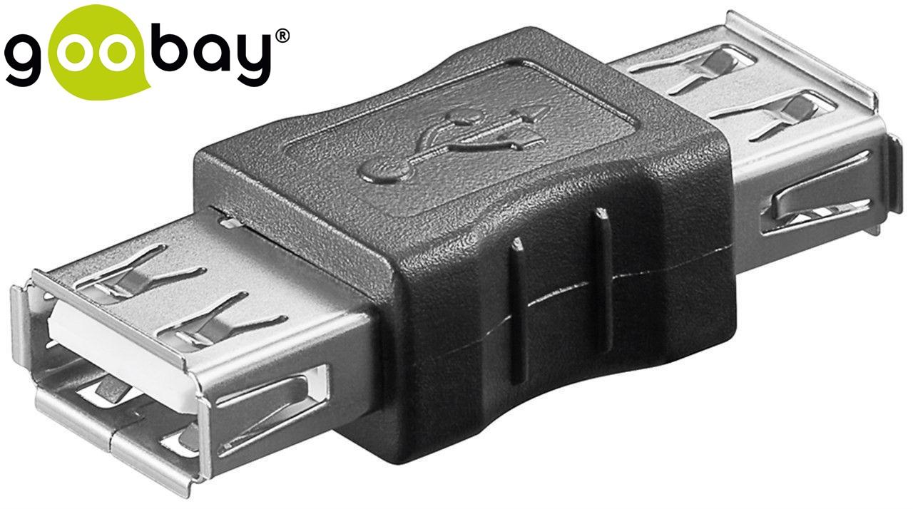 USB A/F to USB A/F GOOBAY