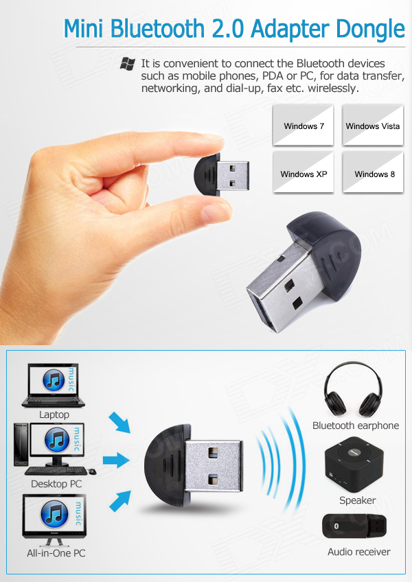 USB Bluetooth V2.0 Dongle MKTECH