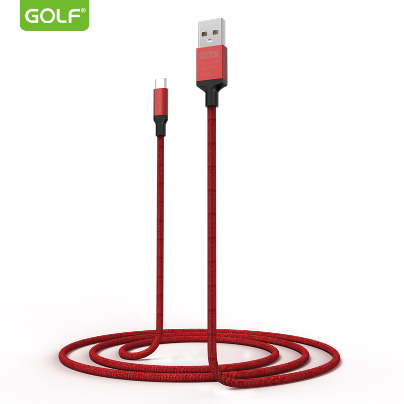 USB male - USB Type-C мъжко 1m. Golf Soft