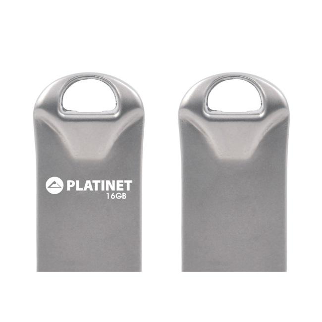 USB памет 16GB Platinet PMFMM16, Метал