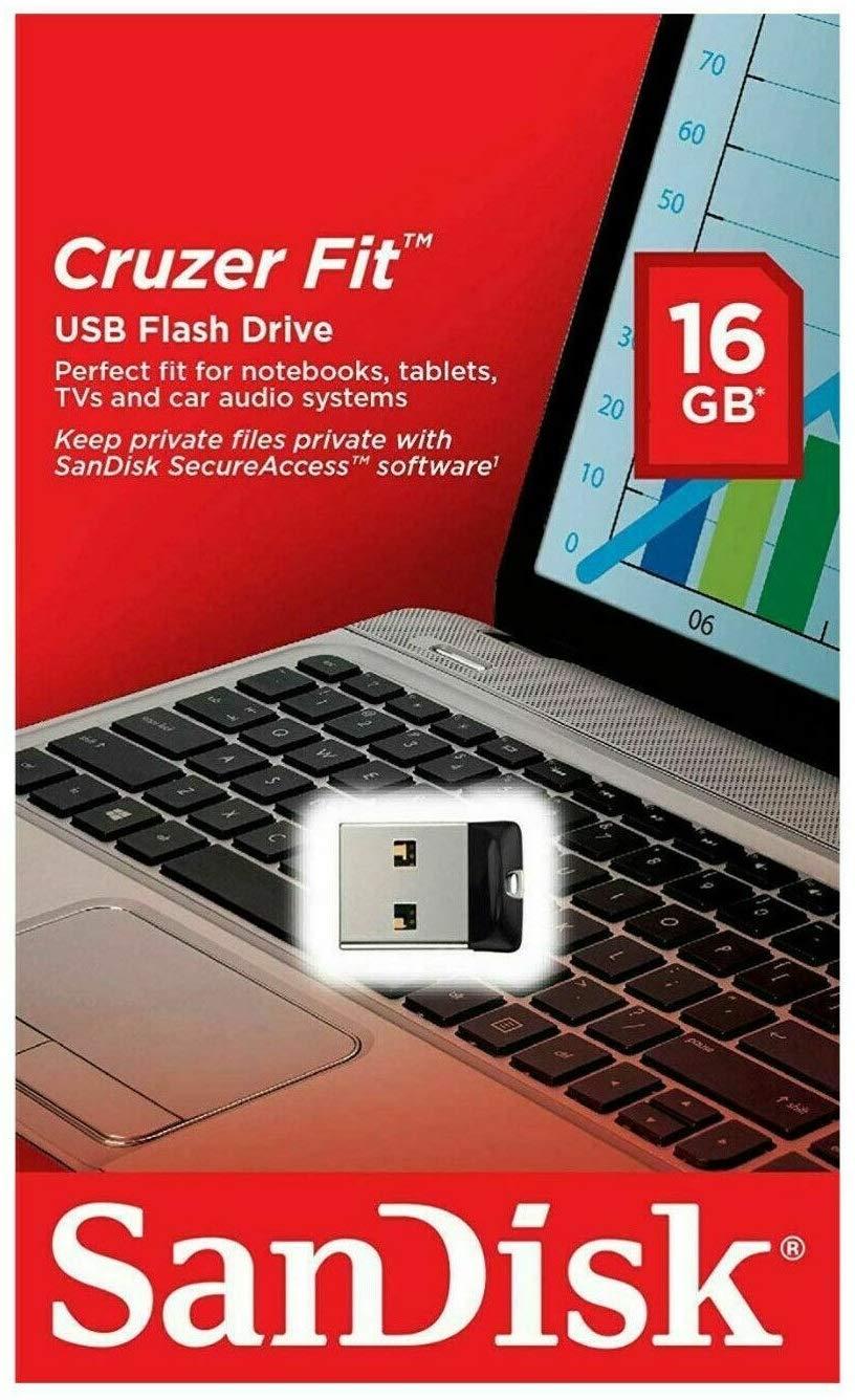 USB памет 16GB SanDisk Cruzer Fit