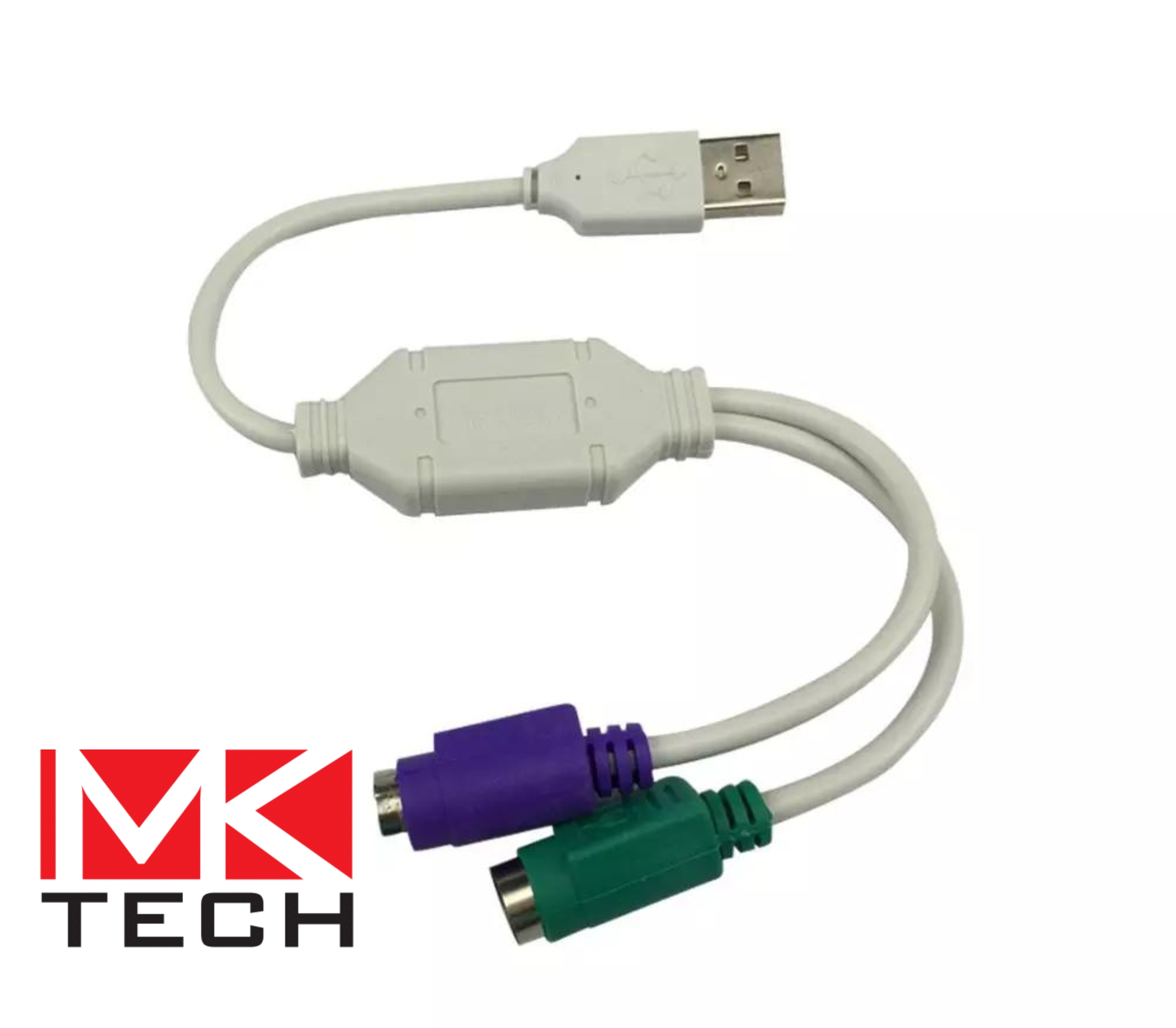 USB to Dual PS/2 Клавиатура и мишка MKTECH