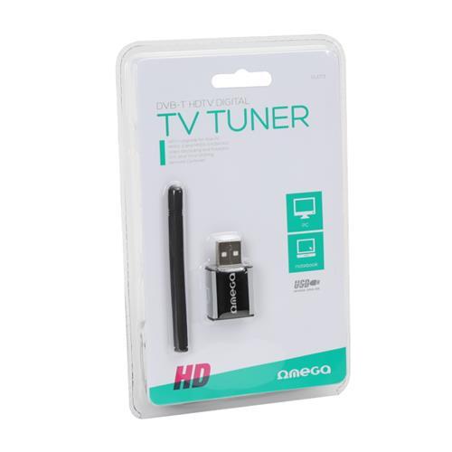 Външен тунер Omega USB DVB-T T300 NANO OUDT3