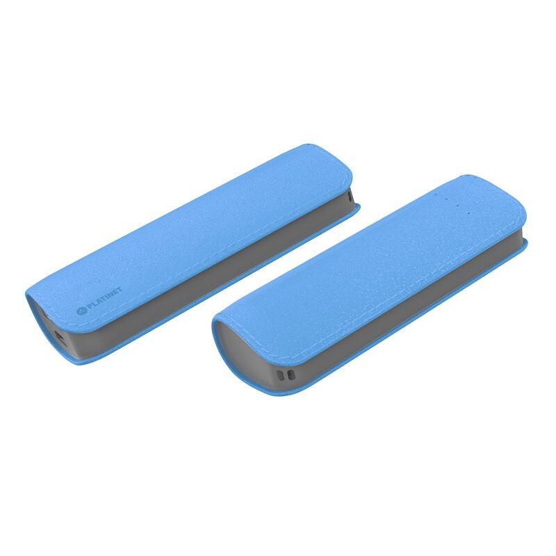 Външна батерия Platinet PMPB26LBL, 2600mAh, Син