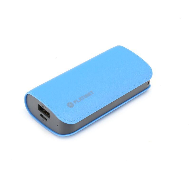 Външна батерия Platinet PMPB52LBL, 5200mAh, Син