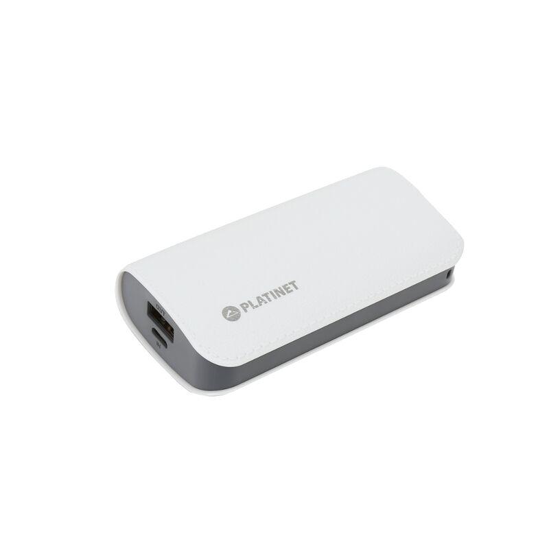 Външна батерия Platinet PMPB52LW, 5200mAh, Бял