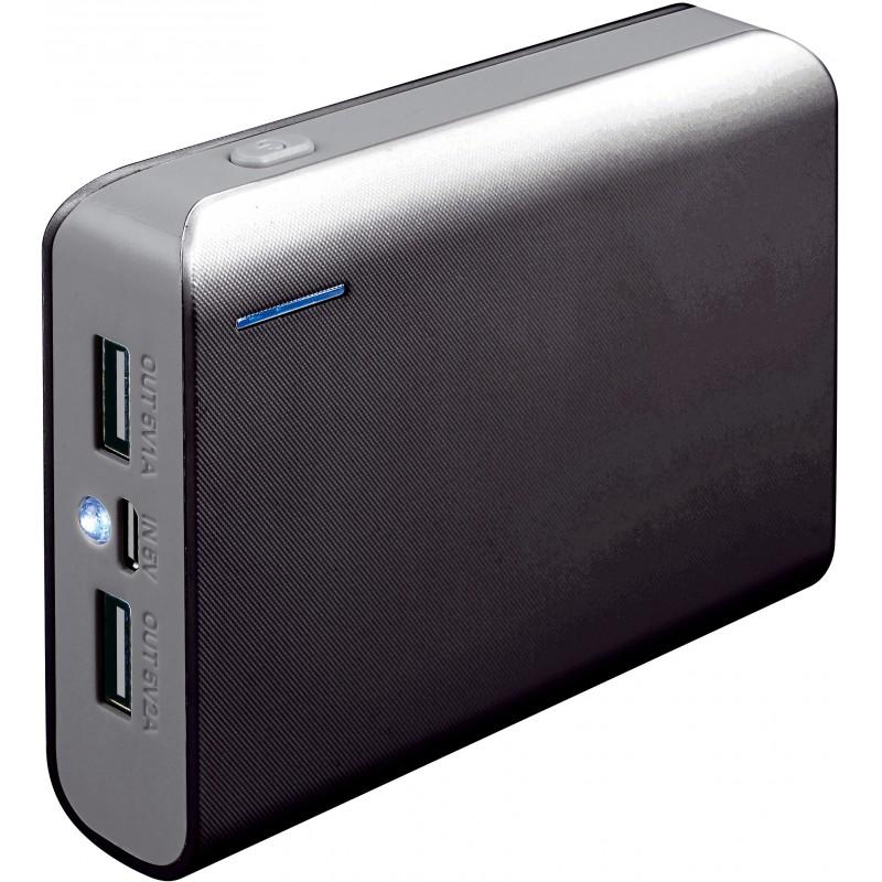 Външна батерия Platinet PMPB6BG, 6000mAh, Сив