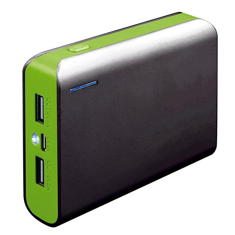 Външна батерия Platinet PMPB6BGR, 6000mAh,Зелен