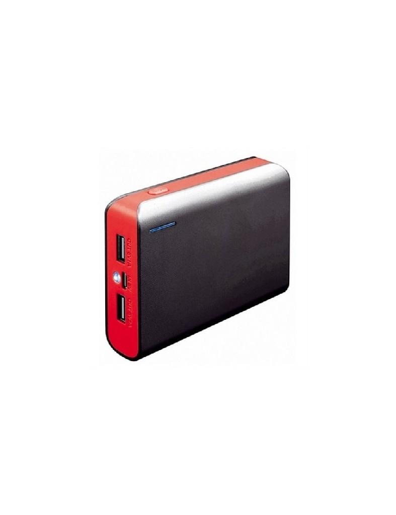 Външна батерия Platinet PMPB6BR, 6000mAh, Червен
