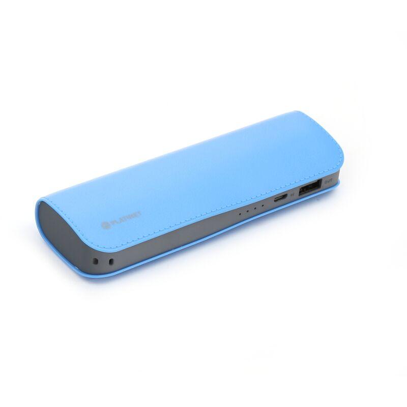 Външна батерия Platinet PMPB72LBL, 7200mAh, Син