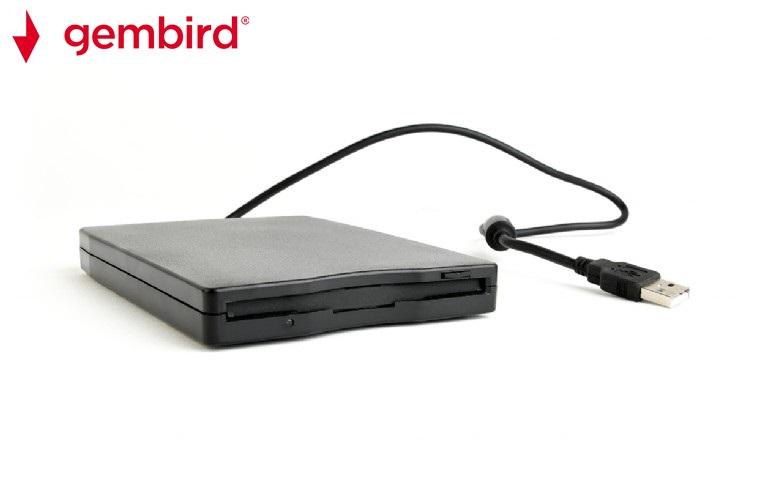 Външно USB 3,5 флопи-дисково устройство Gembird