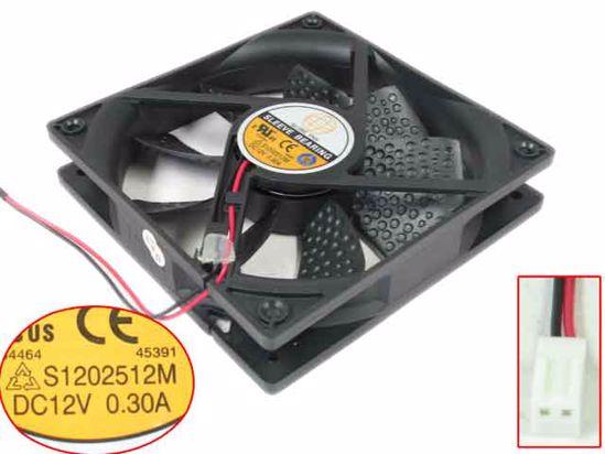 Вентилатор 120x120x25mm GLOBE FAN S1202512M