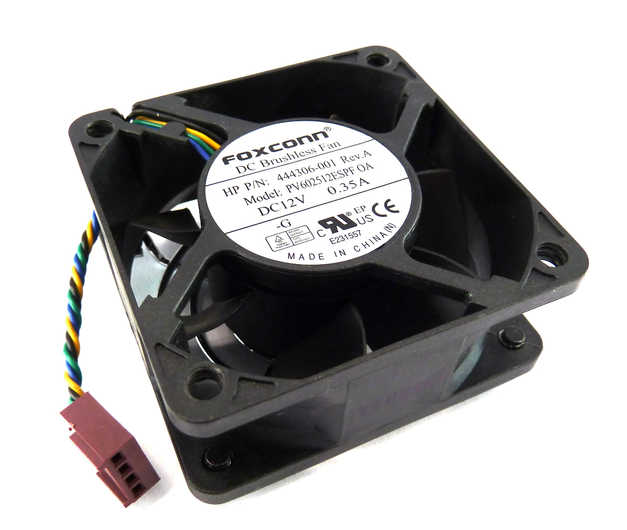 Вентилатор  60x60x25mm Foxconn PV602512ESPF 0A