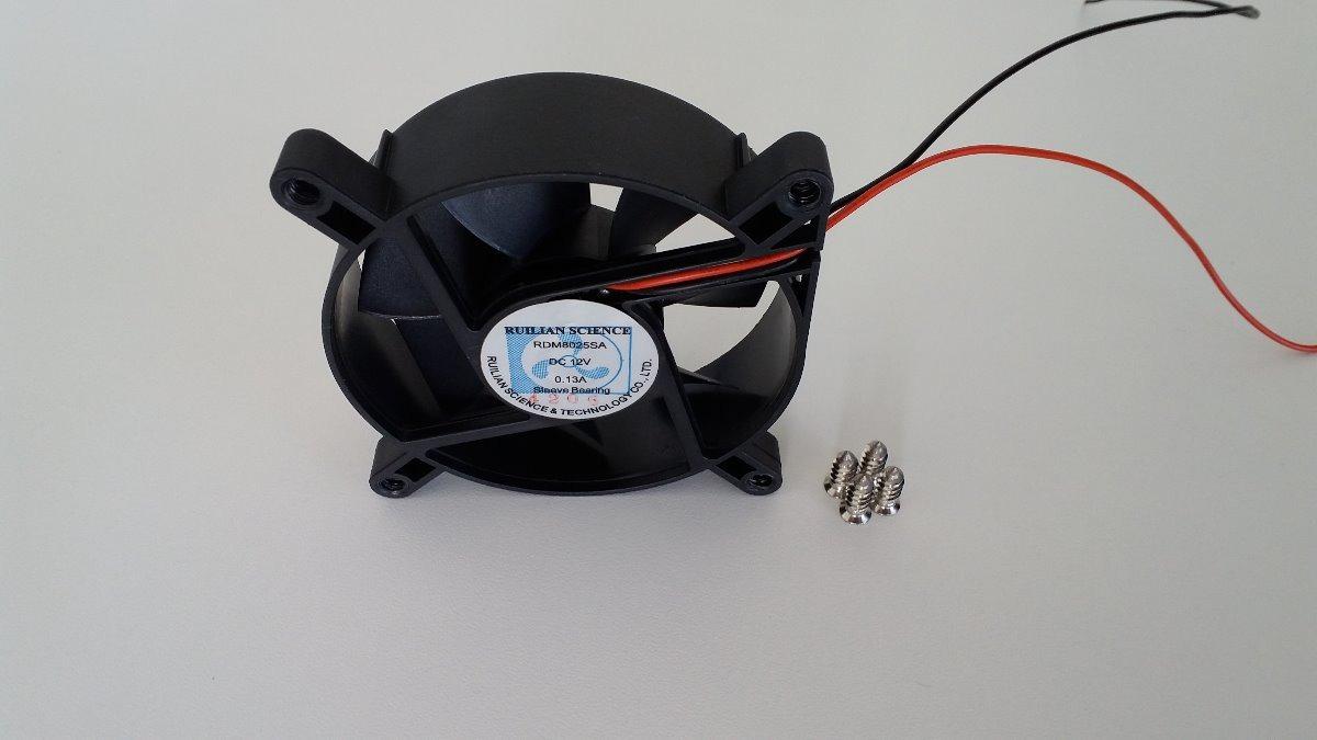 Вентилатор 80x80x25mm OEM