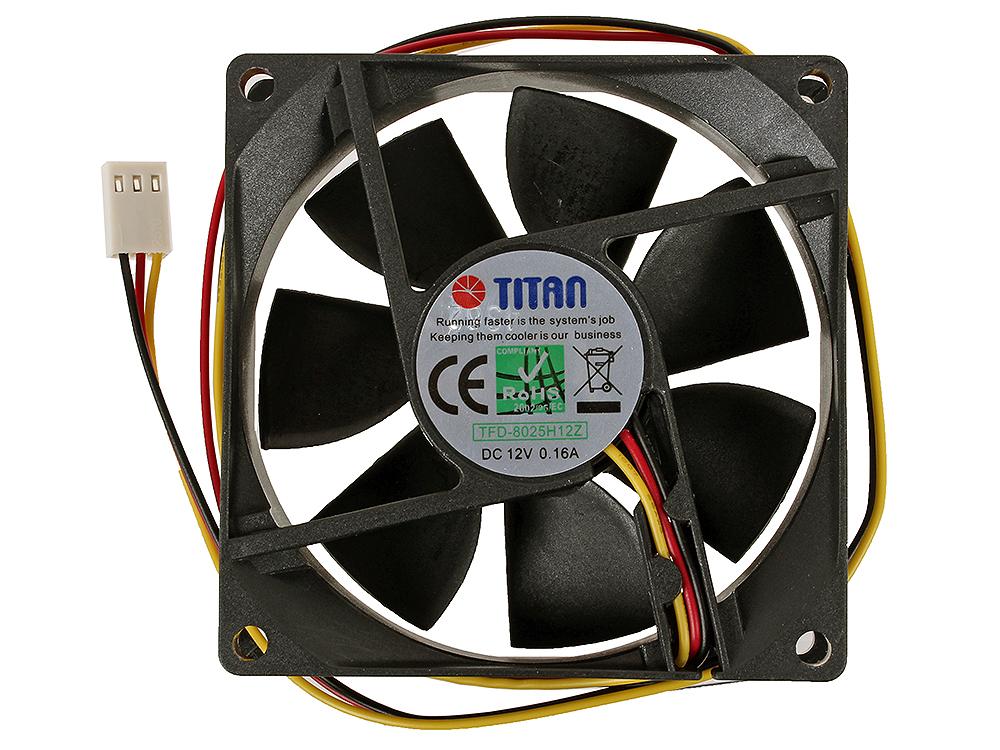 Вентилатор 80x80x25mm Titan TFD-8025H12Z