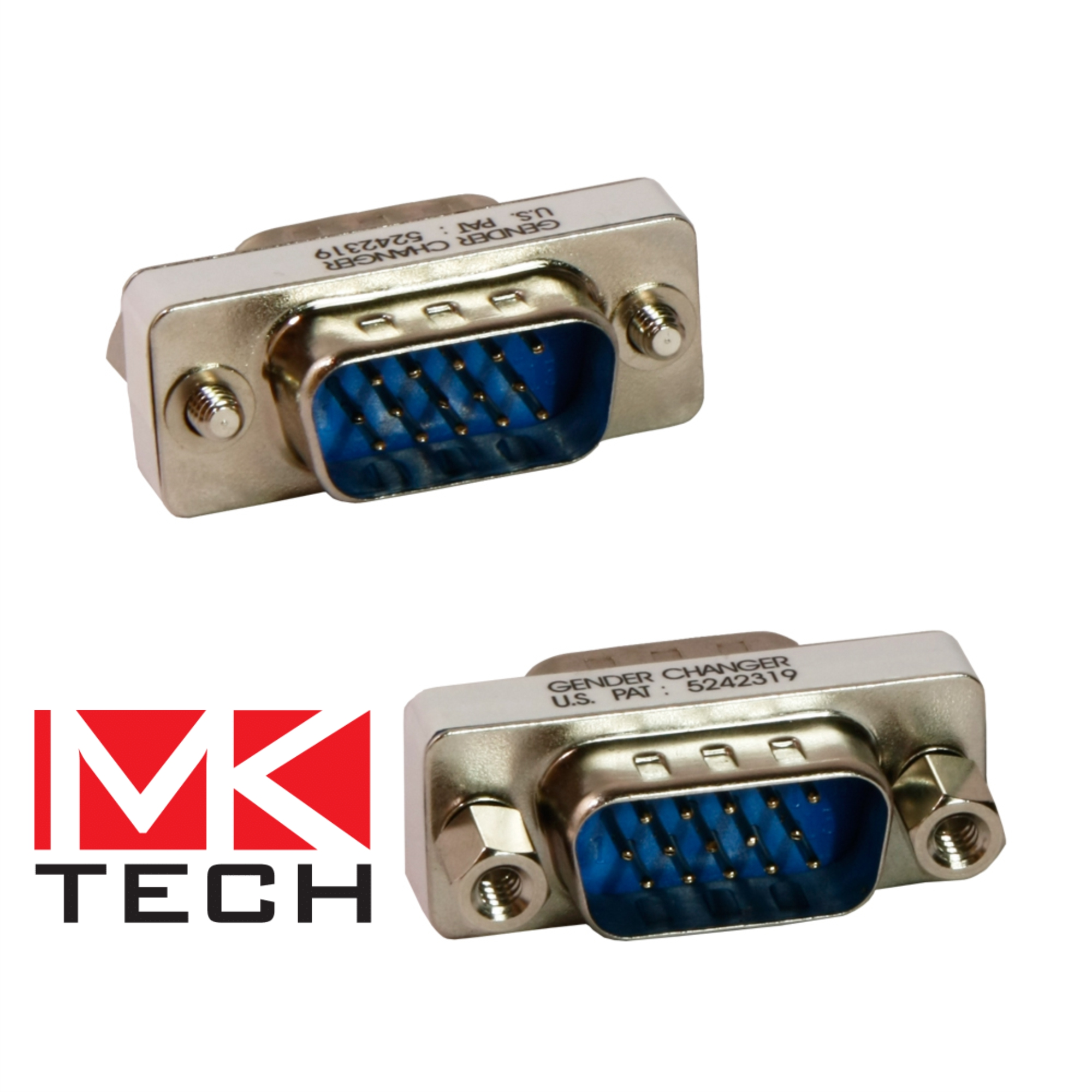 VGA HD15 Male to VGA HD15 Male MKTECH