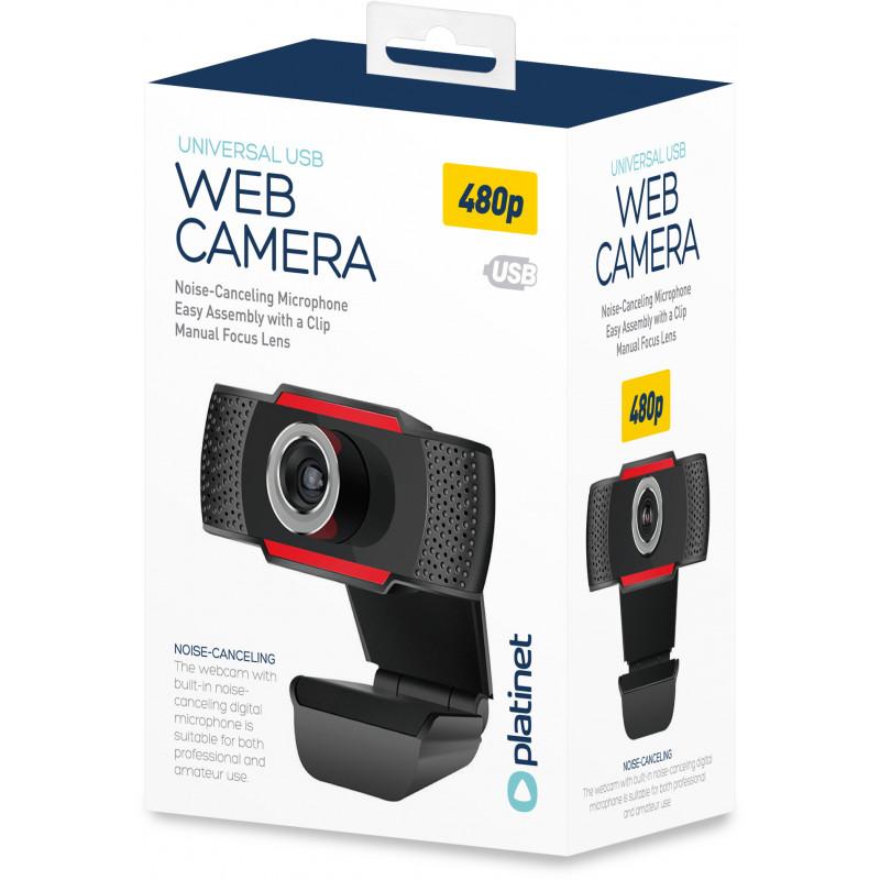 Web Camera Platinet PCWC480 USB 2.0 640x480