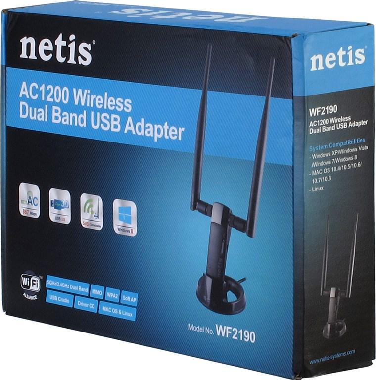 Wireless USB 867Mbps Netis WF2190