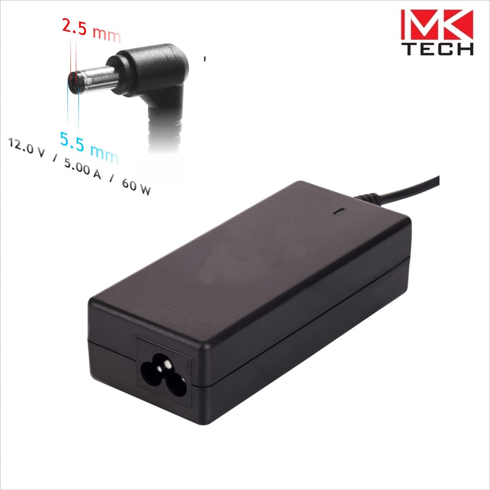 Захранващ адаптер 220V->12V/DC/5A/5.5x2.5mm