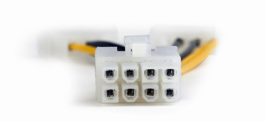 Захранващ адаптер 2x4pin to 8 pin PCIe GOOBAY