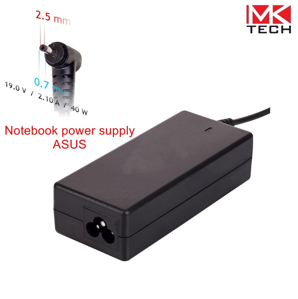 Зарядно 2.5x0.7mm/ 2.1A/ 19V Asus