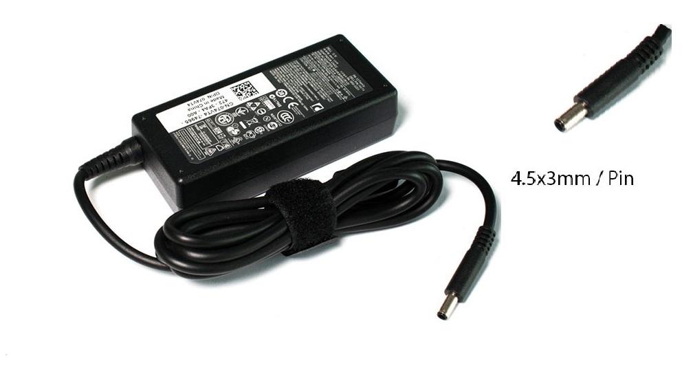 Зарядно 4.5x3.0mm/ 3.34A/ 19.5A DELL