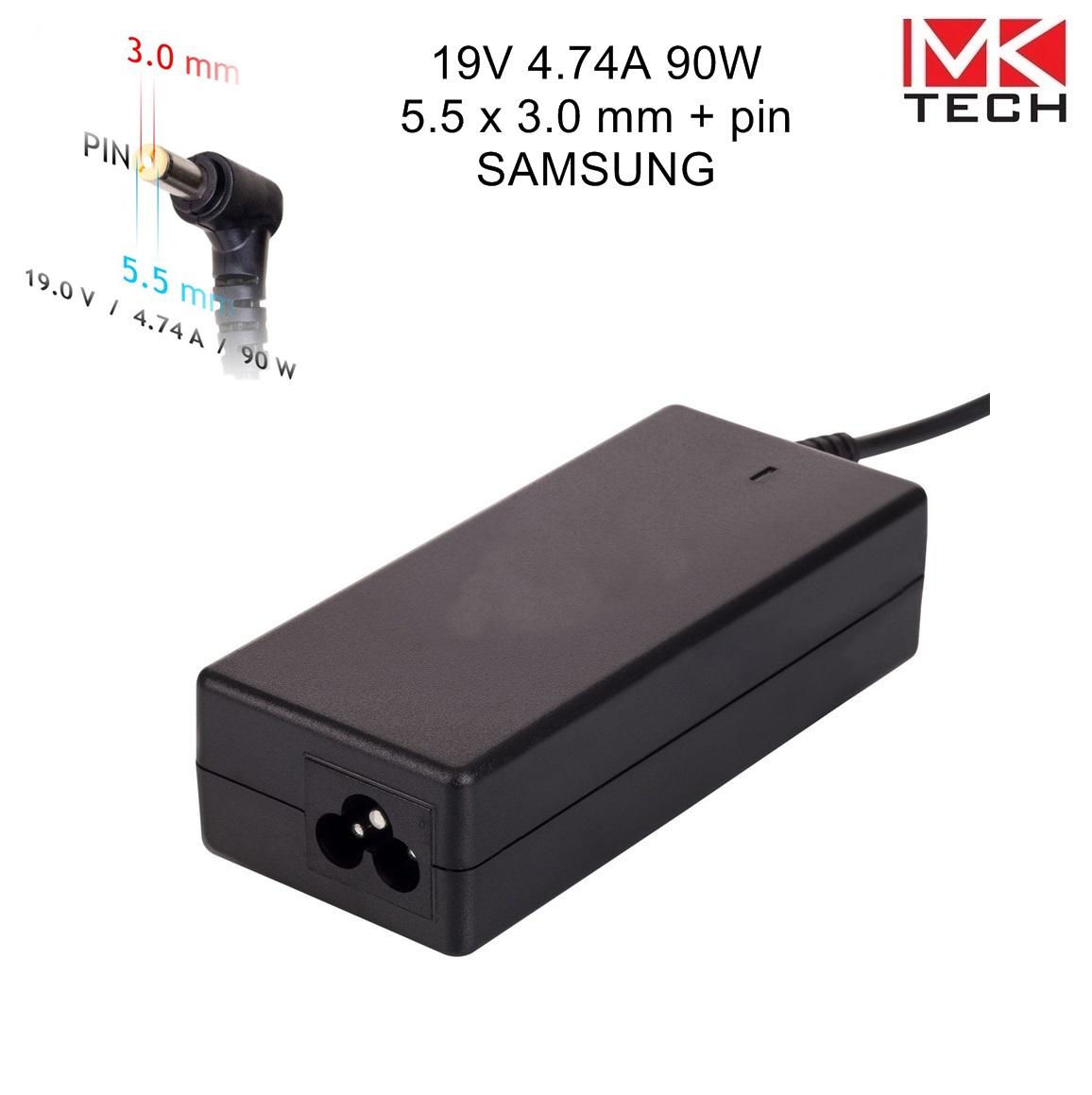 Зарядно 5.5x3.0mm/ 4.74A/ 19V SAMSUNG