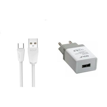 Зарядно за мрежа Golf GF-U1SET 1А USB-C