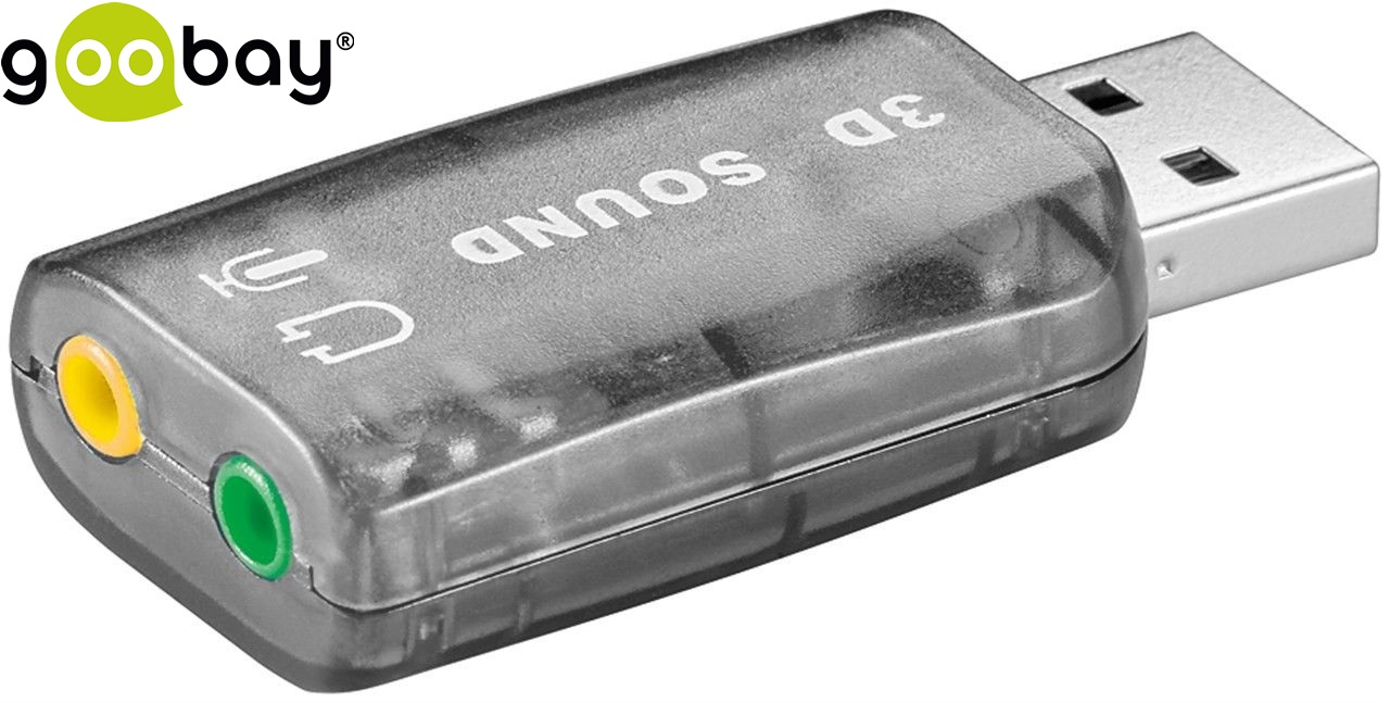 Звукова платка USB 2.0 sound card GOOBAY